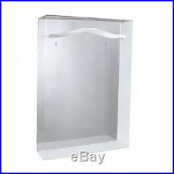 (1) Small Size Basketball Jersey Uv Protection Acrylic Mirror Back Display Case