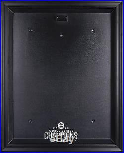 2016 World Series Chicago Cubs Champions Baseball Jersey Display Case Black