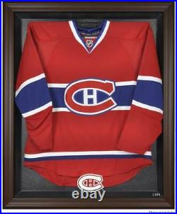 Canadiens Brown Framed Logo Jersey Display Case Fanatics Authentic