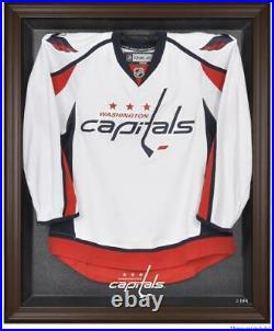Capitals Brown Framed Logo Jersey Display Case Fanatics Authentic