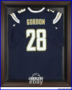 Chargers Brown Framed Logo Jersey Display Case Fanatics Authentic