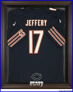 Chicago Bears Framed Logo Jersey Display Case Brown Fanatics Authentic
