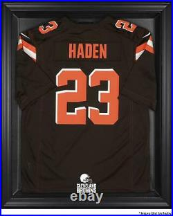 Cleveland Browns Framed Logo Jersey Display Case Brown Fanatics Authentic
