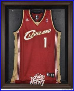 Cleveland Cavaliers (2010-2017) Brown Framed Jersey Display Case Fanatics