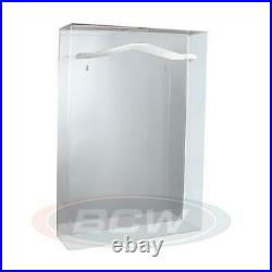 Deluxe Acrylic Uv Protected Large Jersey Display Case With Mirrored Background