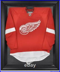 Detroit Red Wings Black Framed Logo Jersey Display Case Fanatics Authentic