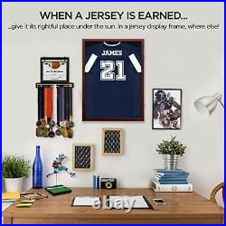 Jersey Frame Display Case Jersey Display Frame with Large Shadow Box UV