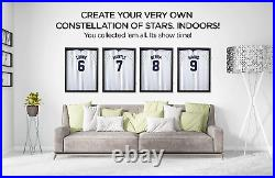 Jersey Frame Display Case Large Jersey Shadow Box Lockable with UV Protected and