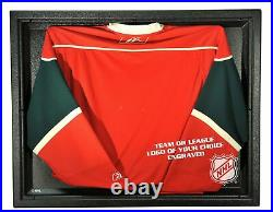 NHL Columbus Blue Jackets Liberty Value Hockey Jersey Display Case with Museu