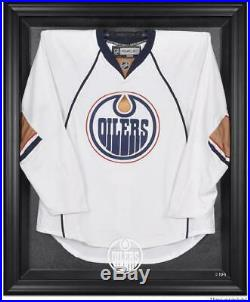 Oilers Black Framed Logo Jersey Display Case Fanatics Authentic