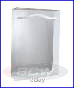 One (1) BCW Deluxe Acrylic Large Jersey Display Holder Case with Mirror Back