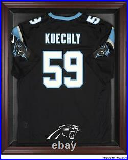 Panthers Frame Jersey Display Case Mahogany Fanatics Authentic