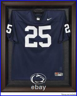 Penn State Nittany Lions Brown Framed Logo Jersey Display Case Fanatics