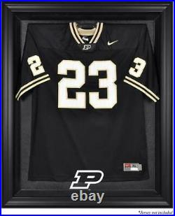 Purdue Boilermakers Black Framed Logo Jersey Display Case Fanatics Authentic