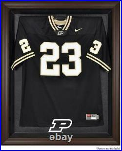 Purdue Boilermakers Brown Framed Logo Jersey Display Case Fanatics Authentic