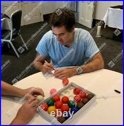 Ronnie O'Sullivan Signed Snooker Ball White With Acrylic Display Case