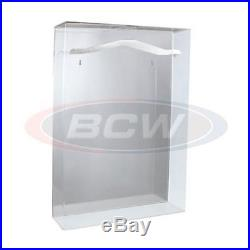 Small BCW Acrylic Basketball Jersey Display Case With Mirrored Back