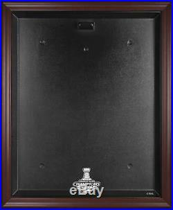 St. Louis Blues 2019 Stanley Cup Champions Mahogany Framed Jersey Display Case