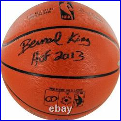 Steiner Sports Bernard King Signed/Autographed NBA Basketball and Display Case