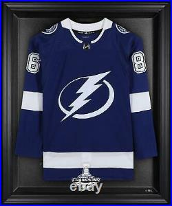 Tampa Bay Lightning 2020 Stanley Cup Champs Black Frmd Jersey Display Case