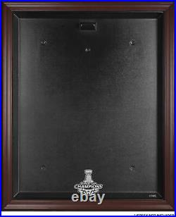 Washington Capitals 2018 Stanley Cup Champions Mahogany Framed Jersey Case
