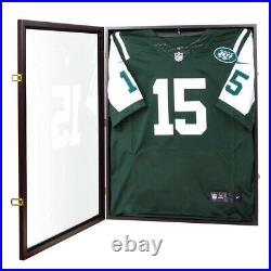 XL Jersey Display Case Brown P30BJ New Sports Display Case Football/Basketball